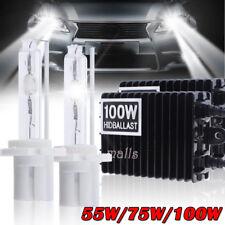 55W 75W 100W HID Xenon Conversion KIT Bulb 9006 9005 H4 H7 H11 9007 6K 8K 10K LQ
