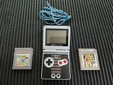 Game Boy Advance Sp Ed Classic Snes + Super Mario Land 6 Golden Coins + Tetris 2