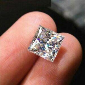 White D Color VVS1 Princess Cut Loose Simulated Diamond 6MM