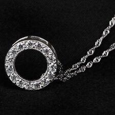 Beauty Modeschmuck-Halsketten & -Anhänger aus Strass mit Zirkonia-Perlen