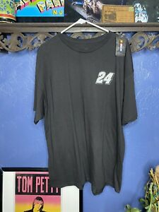 Nascar Jeff Gordon T Shirt Mens 2XL Black New With Tags