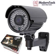 """1/3"""" 1200TVL Sony Sensor HD Bullet Security Camera Tube CCTV 72 IR LED OSD, Gray"""
