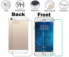 "Clear HD Front and Back Tempered Glass Screen Protector For iPhone 7 7G 4.7"" UK"