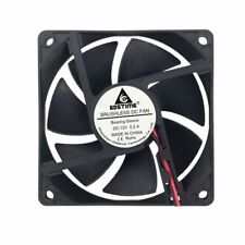 8cm 80mm 80x80x20mm 12V Brushless PC CPU Case Cooling Cooler Fan 2pin 20mm 0.2A