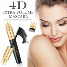 NEW 4D Silk Fiber Mascara Eyelash Lash BLACK Mascara Waterproof Volume Make Up