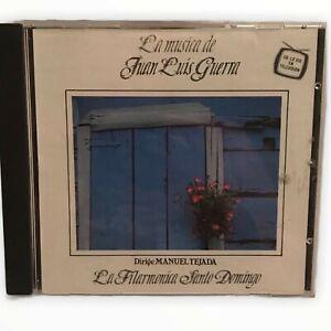 La Musica de Juan Luis Guerra Manuel Tejada Music CD