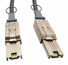 SFF-8088 to SFF-8088 2 Meter Ext. MiniSAS to MiniSAS for Areca, LSI, Adaptec