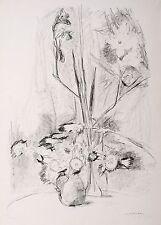 SABINA GRZIMEK - Verblühtes - Lithografie 1976