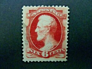 USA 1870 $.06 Lincoln #148 Used Fine Light Cancel - See Description & Images