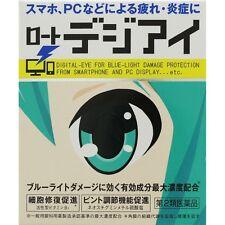 Rohto Eye Drops Degi eye 12ml Degital Damage Repair Miku design from Japan