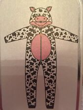 COW All In One Pyjamas Halloween Christmas Dress Up, Primark Size XS 4