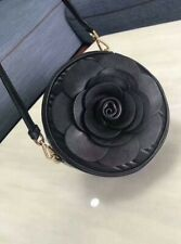 Authentic MICHAEL KORS Vivianne Canteen Quilted Nappa Leather Flower Crossbody