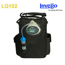 Newest LOVEGO102 2 Batteries Portable oxygen concentrator 5 liters 4 hours work
