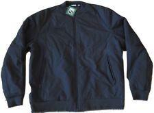 NWT Puma Mens PADDED XXL Bomber Jacket Black 573150 01 TL30466 MSRP $220 NEW