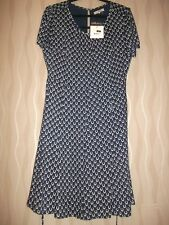 GREAT PLAINS ADMIRAL BLUE LUCKY CHARMS (HORSESHOE) LINED/FLIPPY DRESS.XL.RRP£55