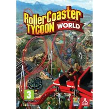 PC DVD Game Rollercoaster Tycoon World Package