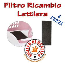 Filtro di Ricambio per lettiera Easy Cat, Zuma, Ginger Imac Toilette Gatto Gatti