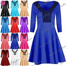 Unbranded V-Neck 3/4 Sleeve Casual Dresses for Women