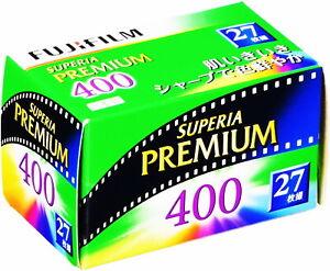 5 x Rolls FUJI SUPERIA PREMIUM 400 COLOR NEG--35mm/27 exps--expiry: 10/2023