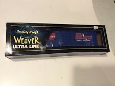 Weaver O-GAUGE: Bill Elliot Blue Nascar Budwiser Box Car MIB