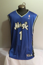 Orlando Magic Jersey (VTG) - # 1 Tracy Mc Grady - By Reebok - Men's 2 XL