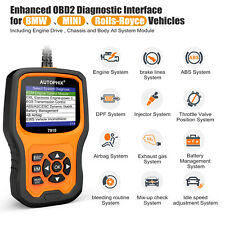 OBD2 Code Reader Car Diagnostic Tool Engine ABS SRS Autophix 7910 for BMW MINI