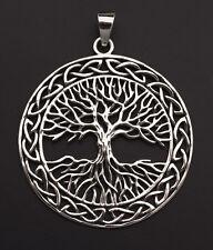 Pendentif Arbre de Vie-Celte-Bijou en Argent 925 8.4g -Tree of life 9991 W9