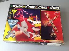 K'nex Knex Power Construction W/ Motor Mill Propeller 43Pcs New Nib