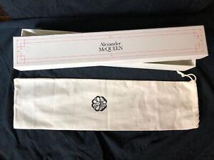 Alexander Mcqueen box for folding umbrella with dust bag empty