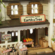 Billy Doll House Miniature Model Kit Handcraft Natural Food Shop Japanese figure