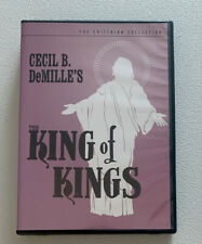 The King of Kings Dvd Criterion Collection #266 Passion of Christ Biblical Epic