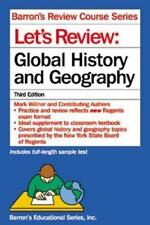 Barron'S Review Course Series - Let'S Review: Global History And Geography Pb