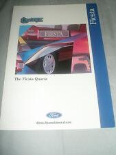 Ford Fiesta Quartz brochure Apr 1995