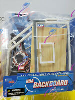HOT !! Mcfarlane NBA backboard Collector's Exclusive Clus for 6'' action figure
