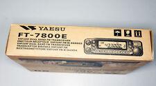 Yaesu FT-7800E Funkgerät -  nur Verpackung (OVP) ohne Inhalt