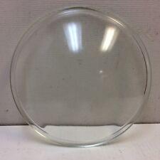"VTG Clear Convexed Glass Railroad Signal Lens 8.75"" for Signals Lantern Etc."