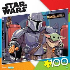 Star Wars The Mandalorian Baby Yoda 100 Piece Jigsaw Puzzle Buffalo Games