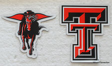 Texas Tech University Red Raiders College football Licensed Team Magnet Set NCAA