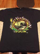 Vintage 90s Ricky Van Shelton Country Music Tour T-Shirt Size L