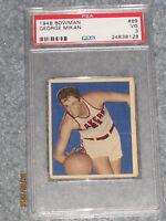 1948-49 Bowman Basketball #69 George Mikan PSA 3 VG
