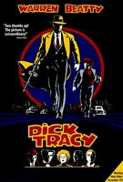 """""""DICK TRACY"""" Movie Poster [Licensed-New-USA] 27x40"""" Theater Size (Warren Beatty)"""