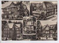 Ansichtskarte Masserberg im Thüringer Wald - Augenheilstätten - schwarz/weiß
