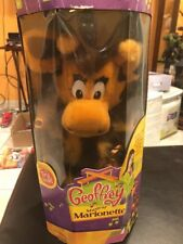 Toys R Us GEOFFREY The Giraffe Musical Marionette New in Box