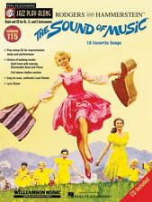 The Sound of Music Jazz Play Along Book and Cd New 000843164
