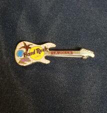 2000 HARD ROCK CAFE LA JOLLA, CA SAND, STAR FISH & SEA SHELLS GUITAR PIN