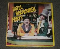 Cannonball & Harvey~Hotel Balderdash Party~1980 Children's Music~FAST SHIPPING!