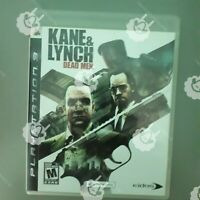 KANE AND LYNCH & DEAD MEN  ( PS3 Playstation 3 Sony ) TESTED