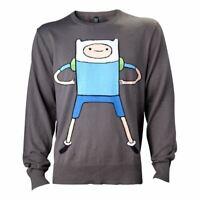 Adventure Time Finn Sweat Mâle Moyen Noir (KW0IIUADV-M)