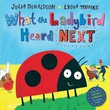 What the Ladybird Heard Next by Donaldson, Julia Book The Cheap Fast Free Post