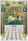 Masonic 2019 CALENDAR  ring Mason Print Poster Freemasonry Scottich York rite